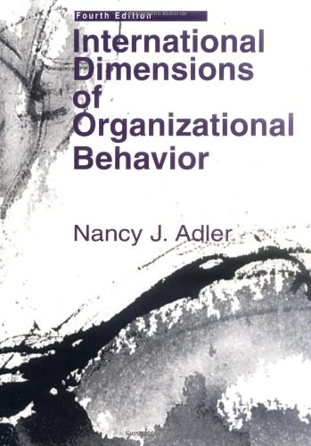 International dimensions of organizational behavior and college international dimensions of organizational behavior and fandeluxe Gallery