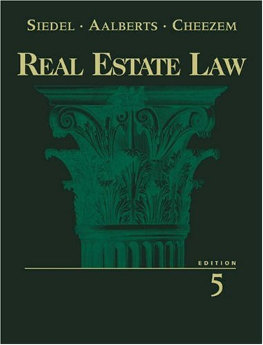 9780324061758: Real Estate Law