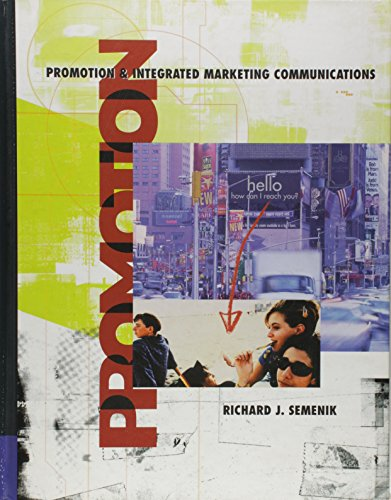 9780324062533: Promotion and Integrated Marketing Communication with InfoTrac College Edition