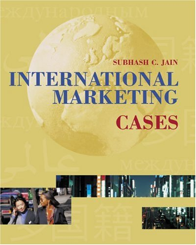 9780324063738: International Marketing Cases with InfoTrac College Edition