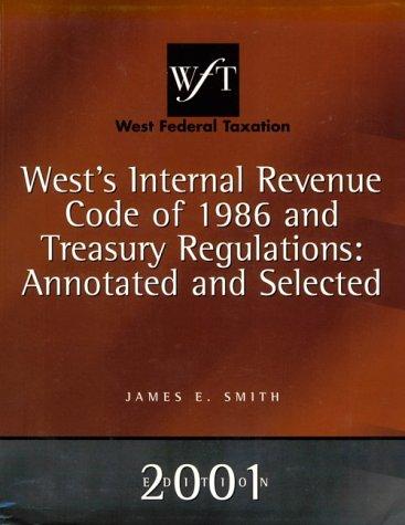 Internal Revenue Code '86 and Treasury Regulations: Rebecca von Gillern;