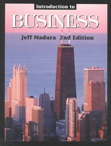 Introduction to Business with Business Plan Booklet: Jeff Madura