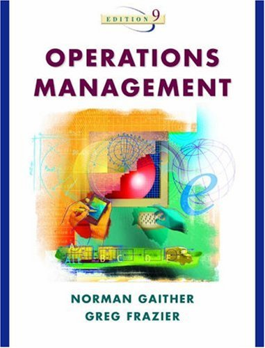 Operations Management with POM Software CD-ROM: Gaither, Norman