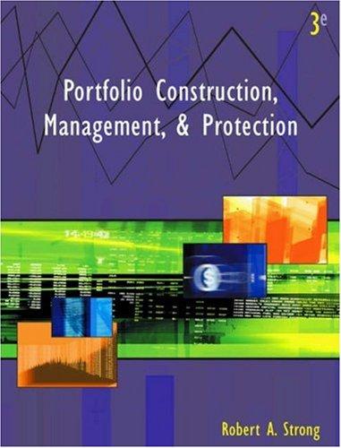 9780324071832: Portfolio Construction, Management, & Protection