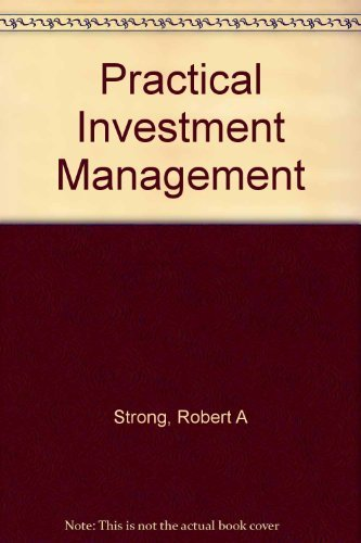 9780324072730: Practical Investment Management