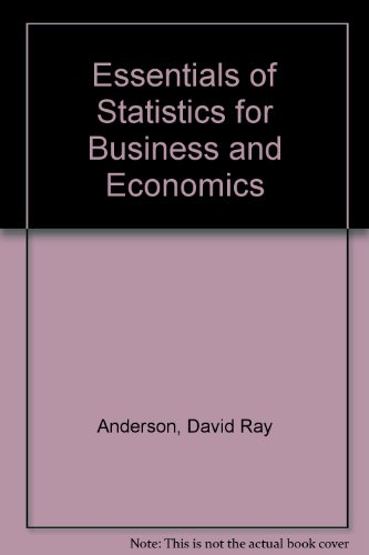 9780324099416: Essentials of Statistics for Business and Economics