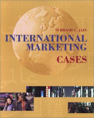 9780324100853: International Marketing Cases, Sixth Edition