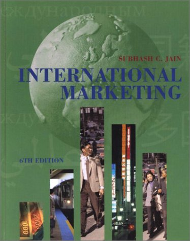 9780324100860: International Marketing