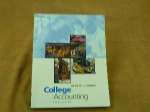 9780324100976: College Accounting, Chapters 1-10