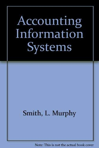 9780324109207: Accounting Information Systems