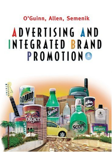 9780324113808: Advertising and Integrated Brand Promotion