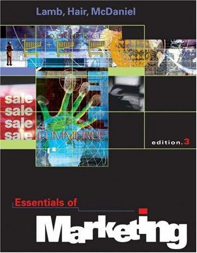 9780324113907: Essentials of Marketing