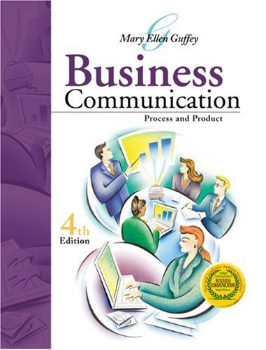 9780324114522: Business Communication: Process and Product