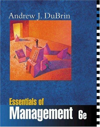 9780324114676: Essentials of Management