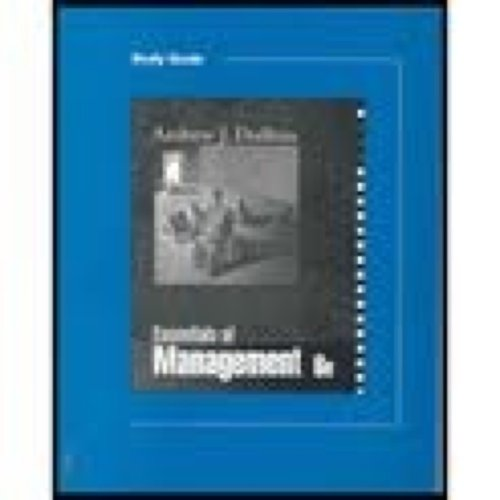 9780324114683: Study Guide to accompany Essentials of Management
