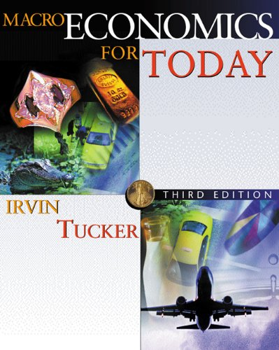 9780324114768: Macroeconomics for Today with X-tra! CD-ROM and InfoTrac College Edition