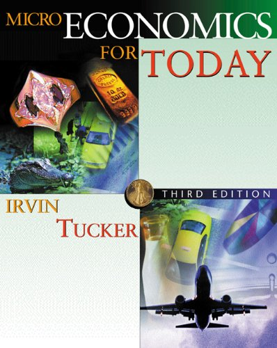 9780324114775: Microeconomics for Today with X-tra! CD-ROM and InfoTrac College Edition