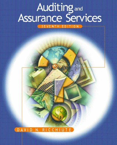 9780324117769: Auditing and Assurance Services
