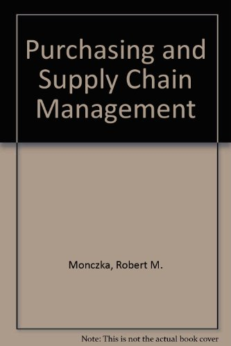 9780324118209: Purchasing and Supply Chain Management