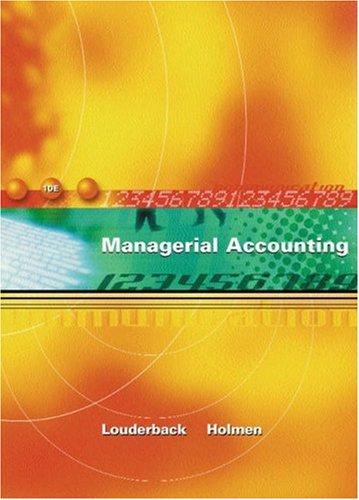 9780324118636: Managerial Accounting