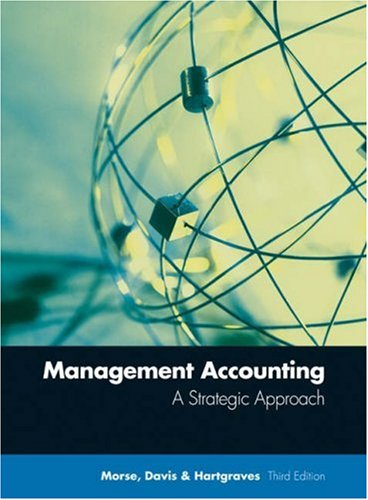 9780324119978: Management Accounting: A Strategic Approach