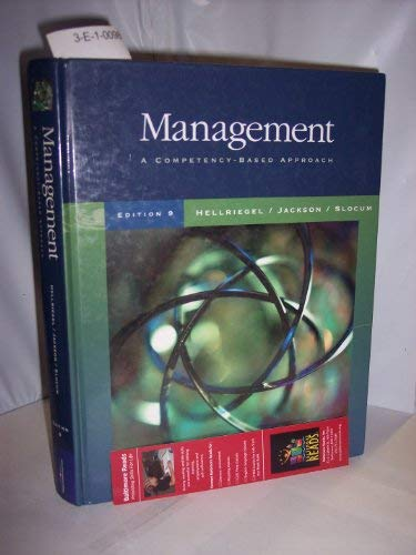 Management: A Competency-Based Approach with Student Resource