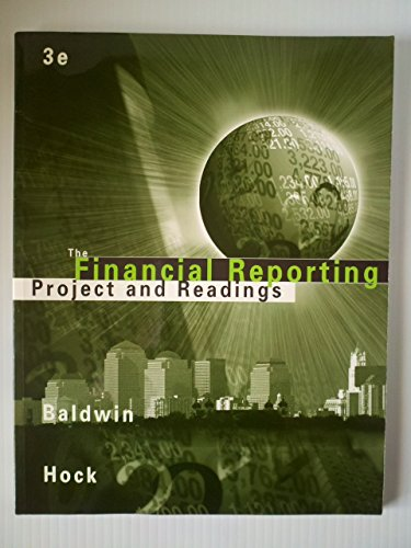 9780324125801: The Financial Reporting Project and Readings