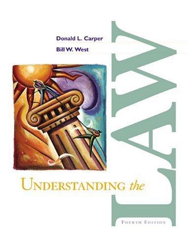 9780324126716: Understanding the Law