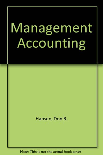 9780324128710: Management Accounting