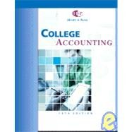 9780324133189: College Accounting: Chapters 1-10