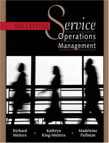 Successful Service Operations Management with CD-ROM: Richard D. Metters,
