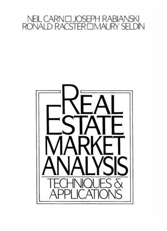 9780324136562: Real Estate Market Analysis