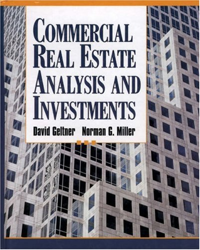 9780324136760: Commercial Real Estate Analysis and Investments