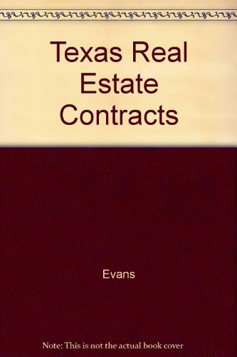 9780324138504: Texas Real Estate Contracts