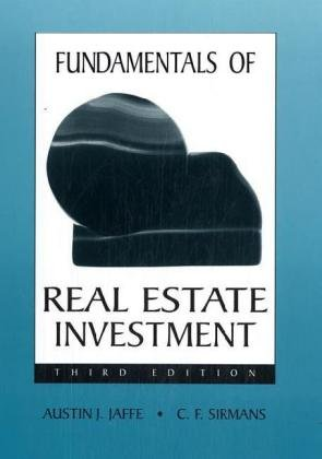 9780324139921: Fundamentals of Real Estate Investment