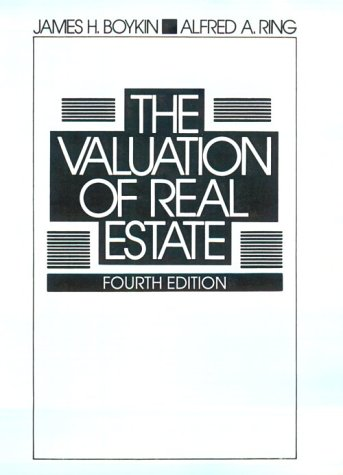 9780324140712: The Valuation of Real Estate
