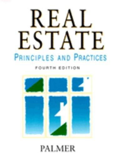 9780324140958: Real Estate Principles and Practices