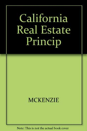 9780324142501: California Real Estate Principles