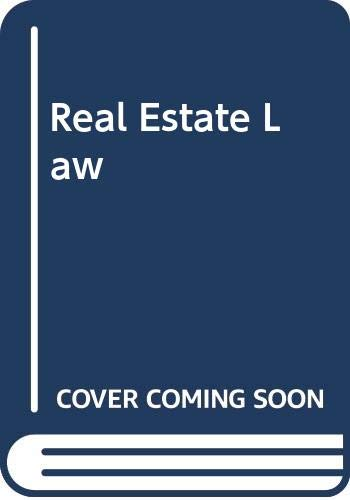 9780324142976: Real Estate Law Tenth Edition