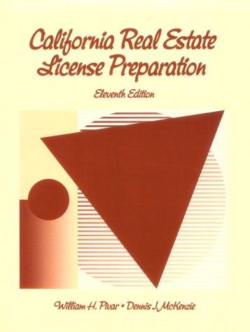 9780324143522: California Real Estate License Preparation