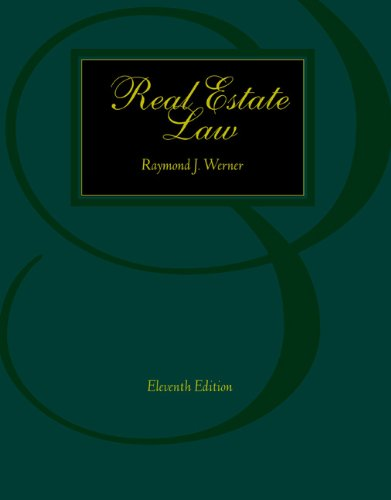 9780324143621: Real Estate Law