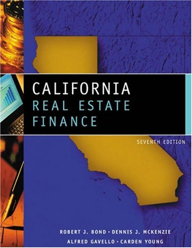 9780324143720: California Real Estate Finance