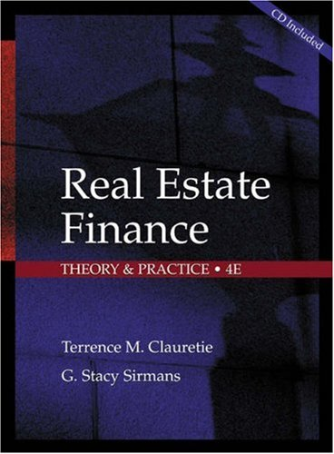 9780324143775: Real Estate Finance: Theory and Practice (Learning Express Real Estate Test Guides)
