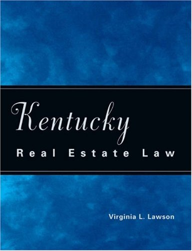 9780324143898: Kentucky Real Estate Law