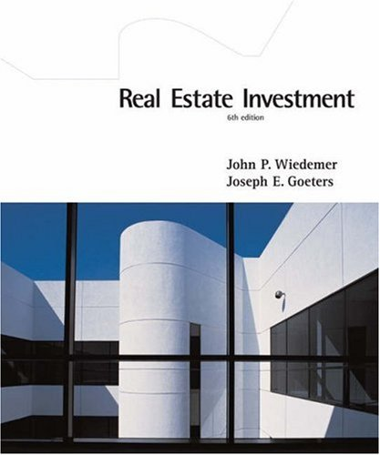 9780324143928: Real Estate Investment