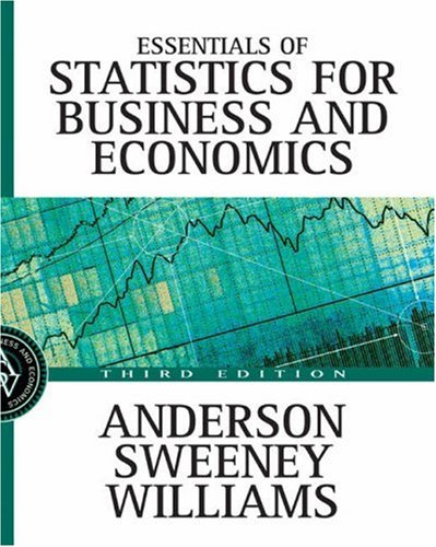 9780324145809: Essentials of Statistics for Business and Economics with Data Files CD-ROM