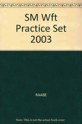 SM Wft Practice Set 2003: RAABE, SMITH, MALON, HOFFMAN