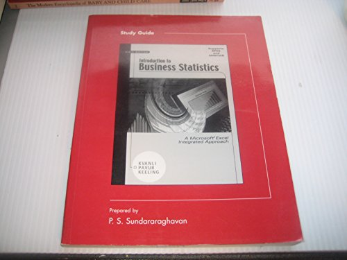 9780324157512: Introduction to Business Statistics: A Computer Integrated, Data Analysis Approach