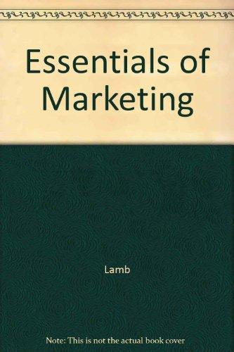 9780324159530: Essentials of Marketing
