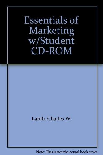 9780324159554: Essentials of Marketing w/Student CD-ROM
